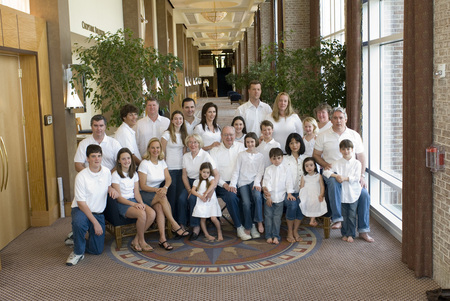 Family Photo Chesapeake Hyatt